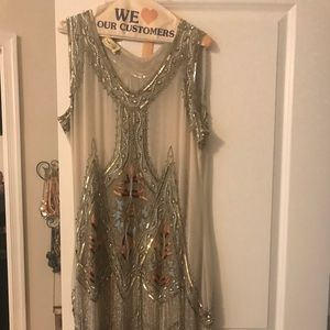 Uniques Vintage beaded dress